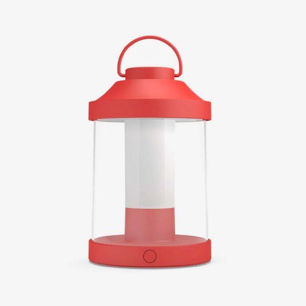 Lámpara de sobremesa inalámbrica Abelia rojo Philips-0
