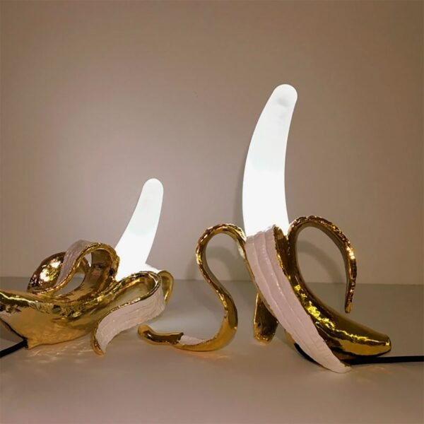 Lámpara de sobremesa Louie oro Seletti -854