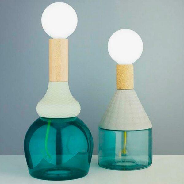Lámpara de sobremesa MRND azul Seletti-1726