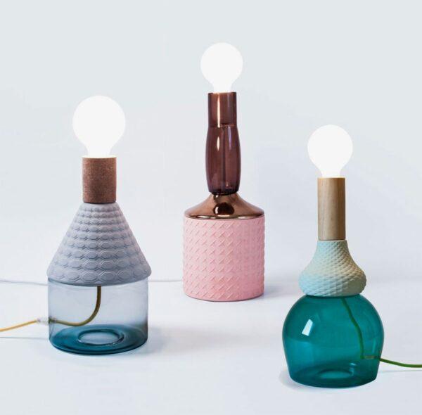 Lámpara de sobremesa MRND rosa Seletti-843