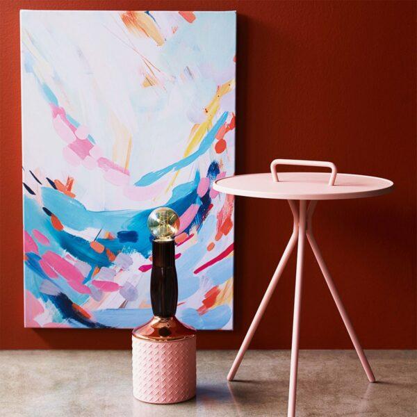 Lámpara de sobremesa MRND rosa Seletti-844