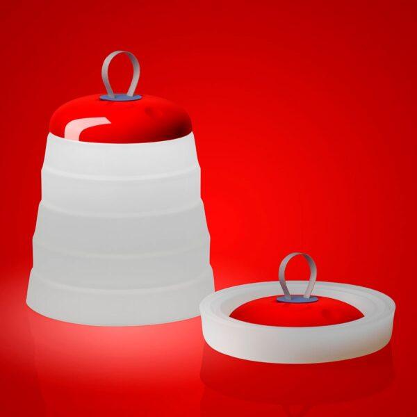Lámpara inalámbrica Cri Cri rojo Foscarini-1602
