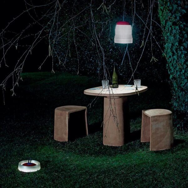Lámpara inalámbrica Cri Cri rojo Foscarini-1603