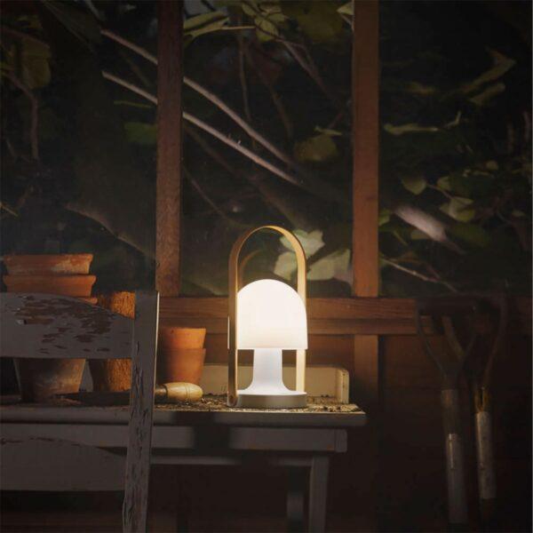 Lámpara inalámbrica Follow me Plus blanco Marset-772