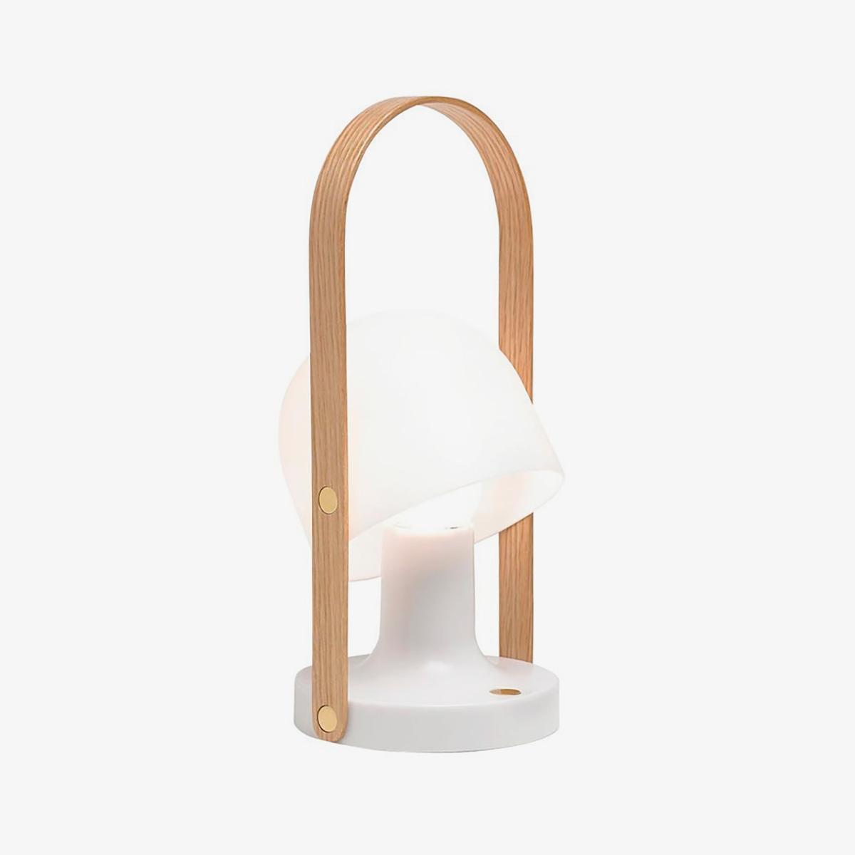 Lámpara inalámbrica Follow me Plus blanco Marset-0