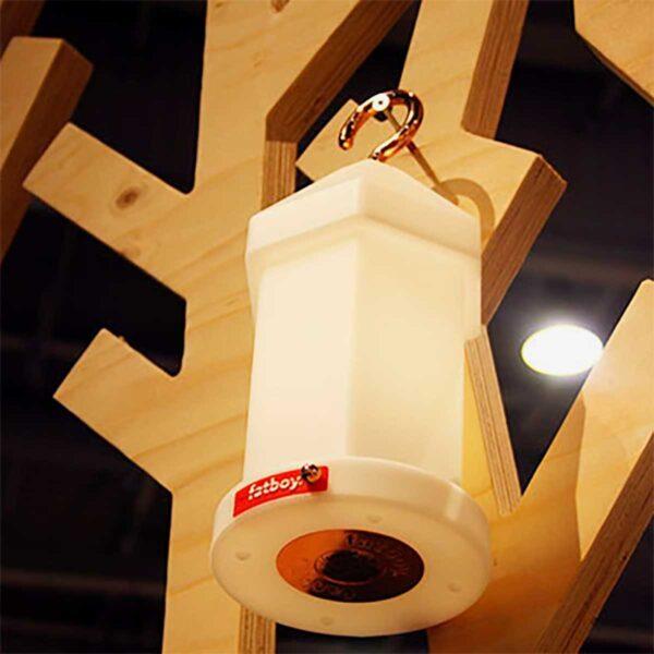 Lámpara inalámbrica Lampie-on blanco Fatboy-553