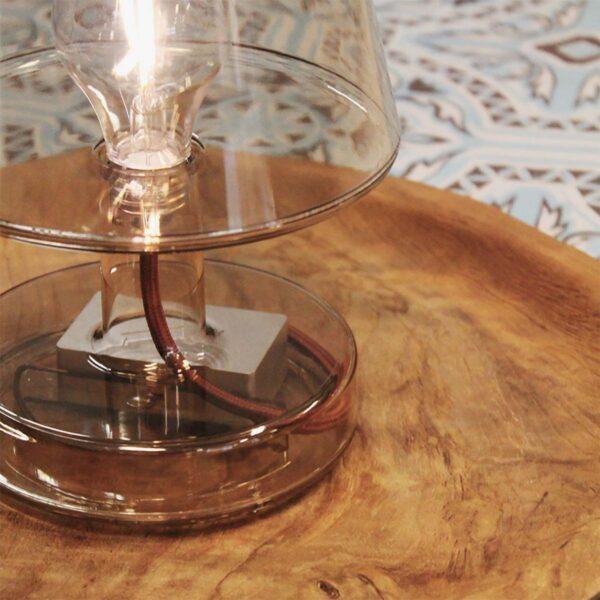 Lámpara inalámbrica Transloetje marrón Fatboy-550