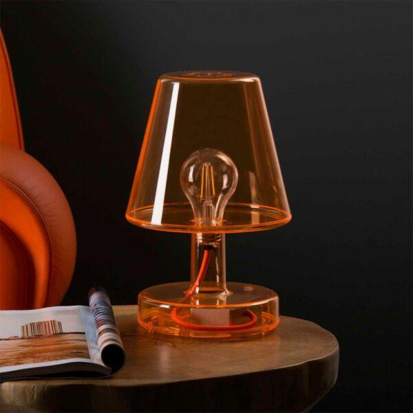 Lámpara inalámbrica Transloetje naranja Fatboy-549