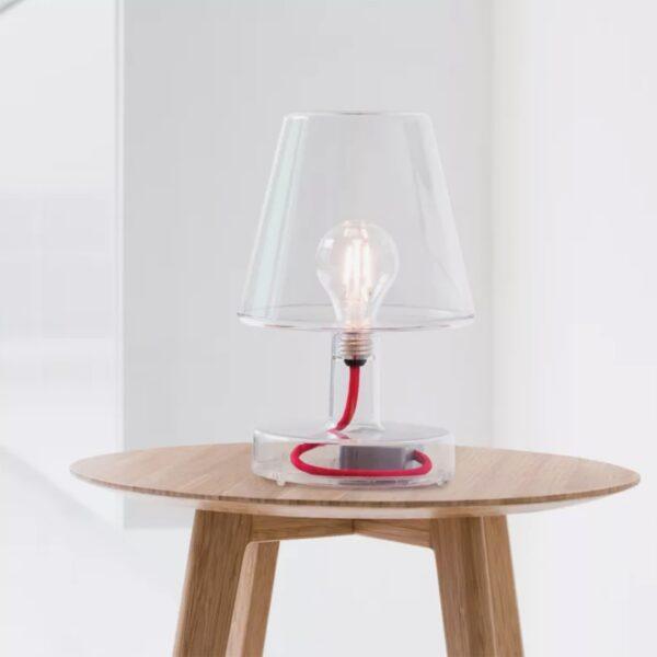 Lámpara inalámbrica Transloetje transparente Fatboy-544