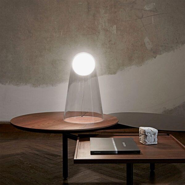 Lámpara sobremesa Satellight transparente Foscarini-592