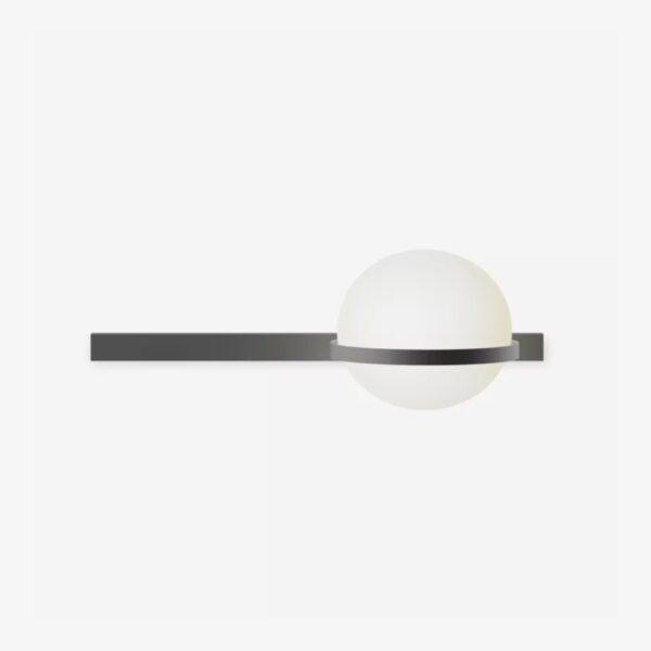 Aplique de pared Palma esfera grafito Vibia-0