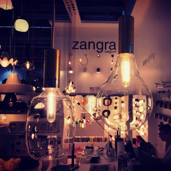Bombilla Drop transparente Zangra-1539