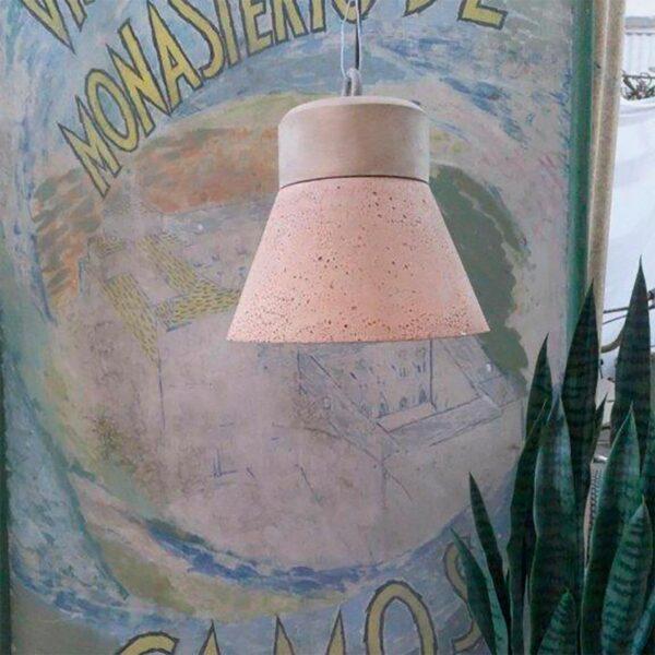 Lámpara colgante A Vida madeiro gris-1484