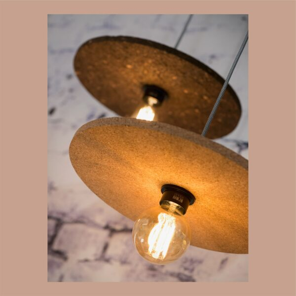 Lámpara colgante Algarve marrón oscuro Good and Mojo-1325