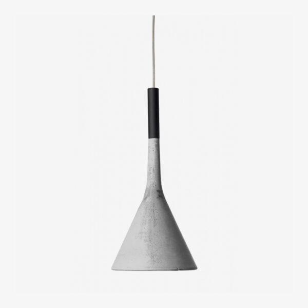 Lámpara colgante exterior Aplomb gris Foscarini-0