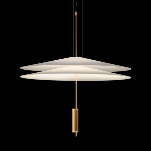 Lámpara colgante Flamingo 1510 oro satinado Vibia-1283
