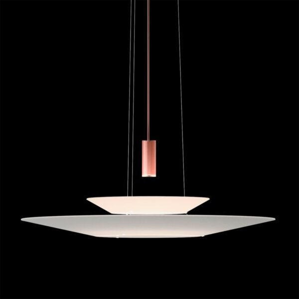 Lámpara colgante Flamingo 1540 cobre brillo Vibia-1287