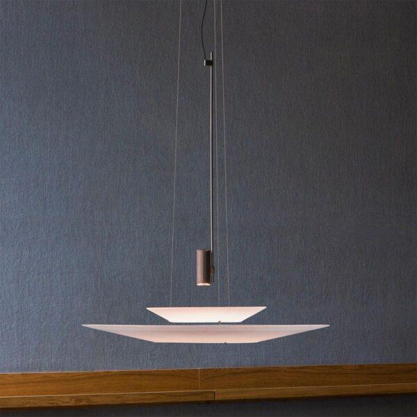 Lámpara colgante Flamingo 1540 cobre brillo Vibia-1289