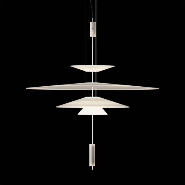 Lámpara colgante Flamingo 1550 blanco mate Vibia-1293