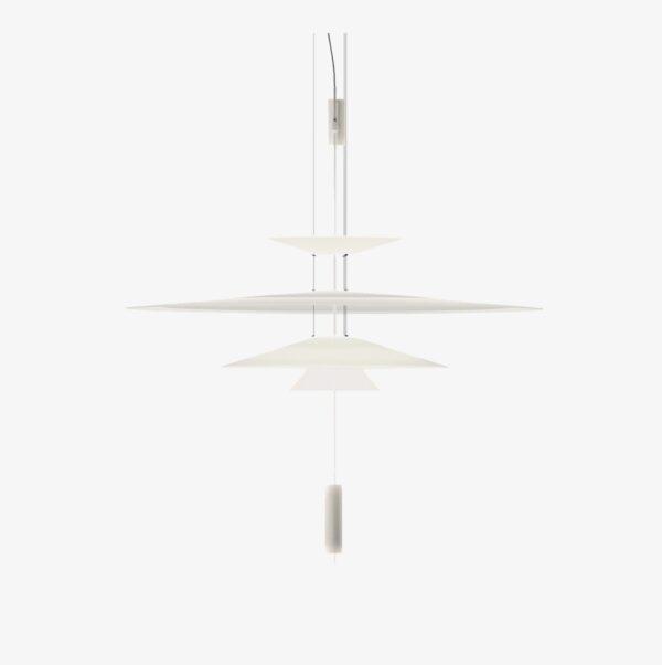 Lámpara colgante Flamingo 1550 blanco mate Vibia-0