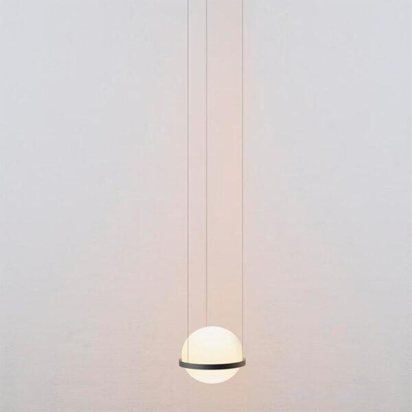 Lámpara colgante Palma esfera grafito Vibia-1211