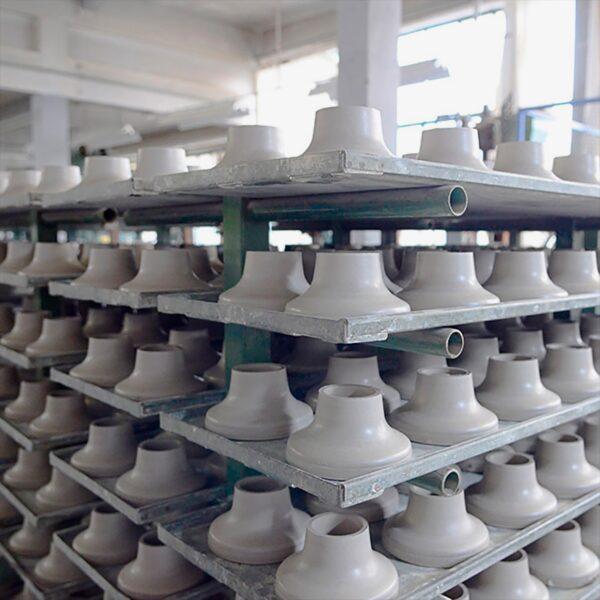 Lámpara de pared o techo porcelana blanca Zangra-1746