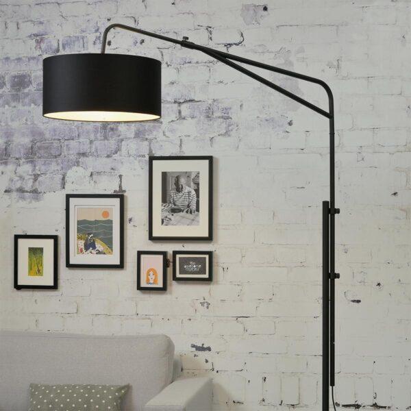 Lámpara de pie Brighton negro Good and Mojo-1311