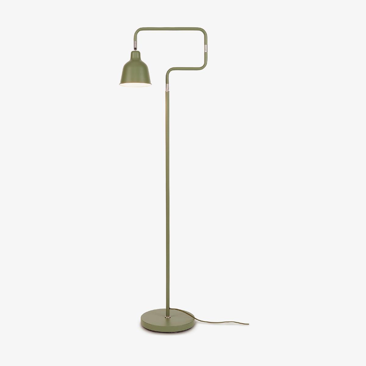 Lámpara de pie London verde Good and Mojo-0