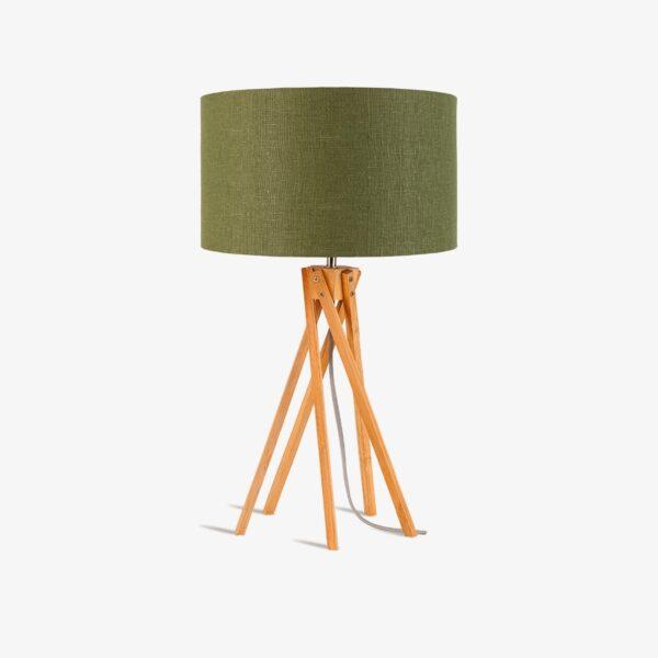 Lámpara de sobremesa Kilimanjaro verde Good and Mojo-0