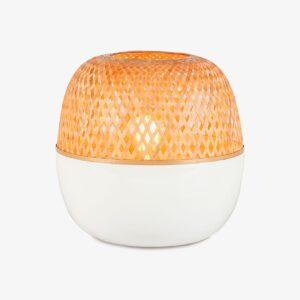 Lámpara de sobremesa Mekong L blanco natural Good and Mojo-0