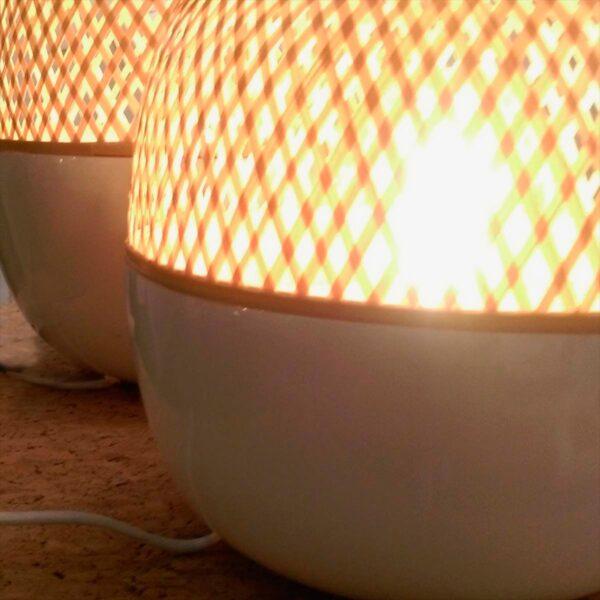 Lámpara de sobremesa Mekong S blanco natural Good and Mojo-1632