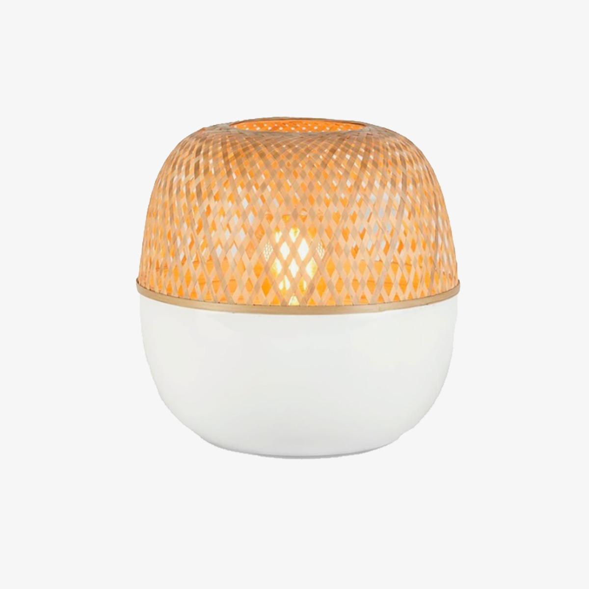 Lámpara de sobremesa Mekong S blanco natural Good and Mojo-0