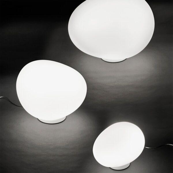 Lámpara de suelo exterior Gregg Terra media blanco Foscarini-1171