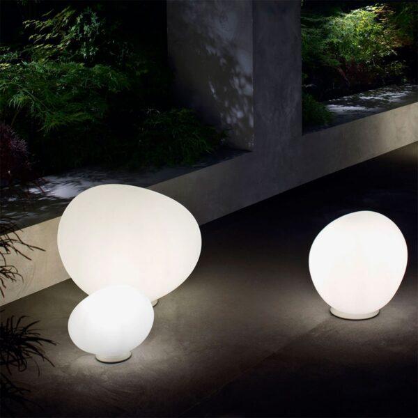 Lámpara de suelo exterior Gregg Terra XL blanco Foscarini-1161