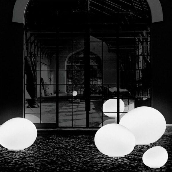 Lámpara de suelo exterior Gregg Terra XL blanco Foscarini-1163