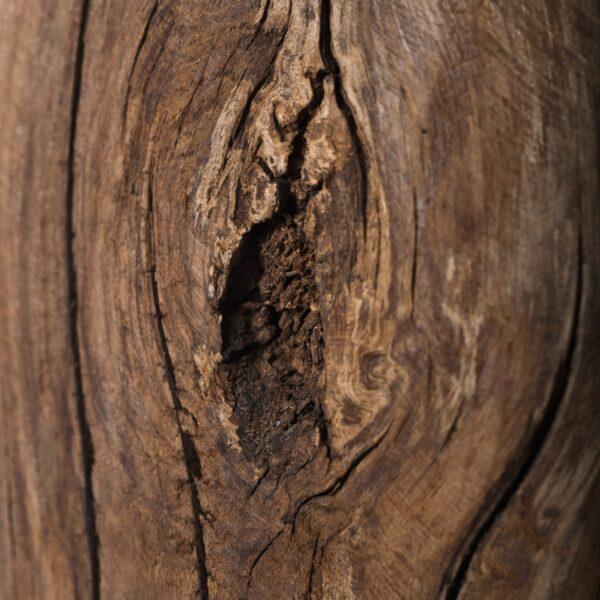 Detalle madera pie cohomelo A Vida