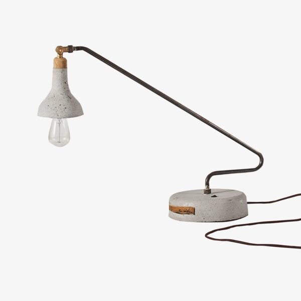 Lámpara de sobremesa Fariña gris A Vida