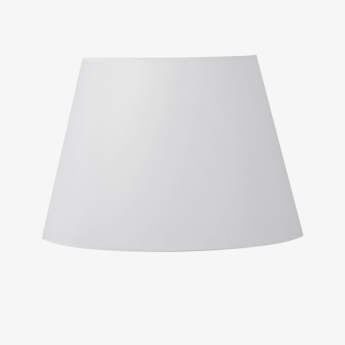 Pantalla Dream tejido poliester blanco   Diámetro 45 cm