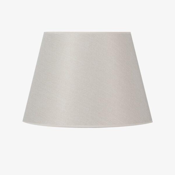 Pantalla Dream tejido algodón gris | Diámetro 45 cm
