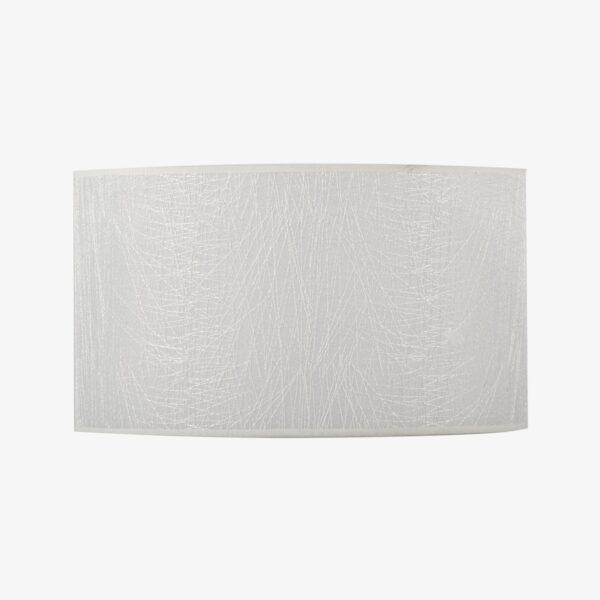 Pantalla Dubai blanco   Diámetro 40 cm   Poliester 100%