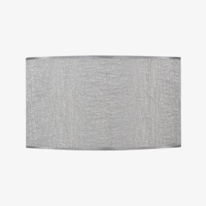 Pantalla Dubai gris | Diámetro 40 cm | Poliester 100%