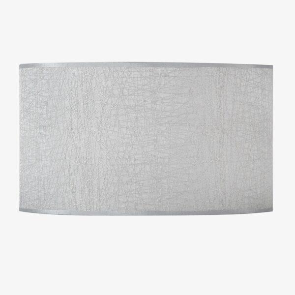 Pantalla Dubai gris   Diámetro 40 cm   Poliester 100%