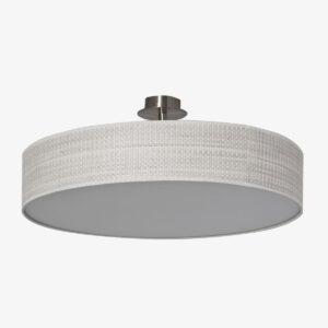 Pantalla Roma blanco | Diámetro 60 cm