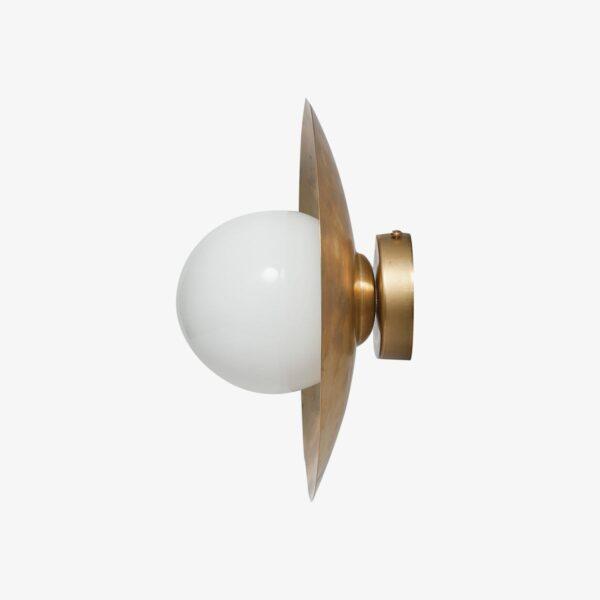 Aplique en latón de 25 cm diametro
