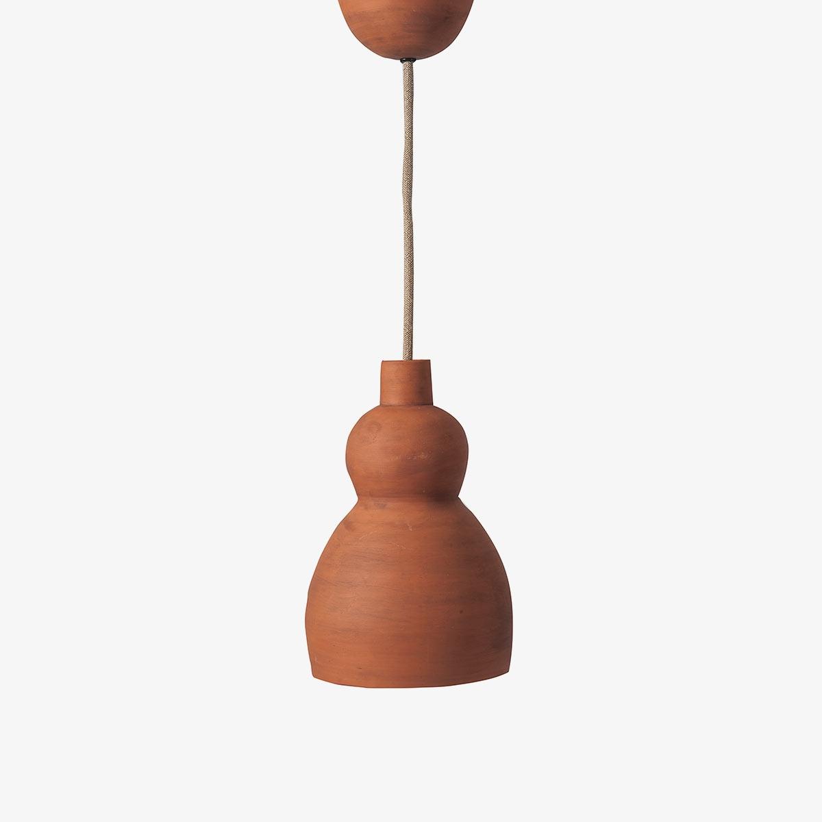 Lámpara colgante barro Mud Ceiling