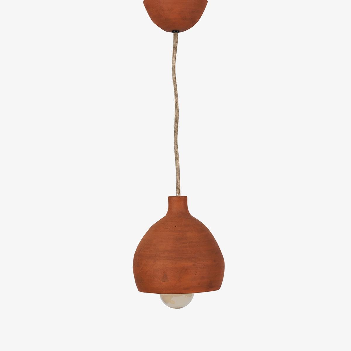 Lámpara colgante barro Mud Ceiling Halfmoon