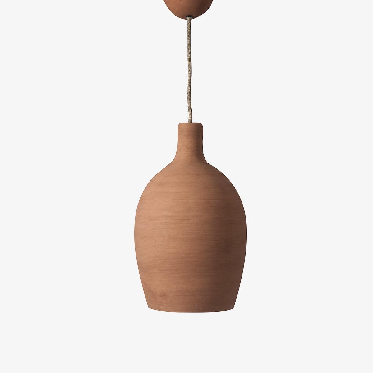Lámpara colgante barro Mud Ceiling Cup