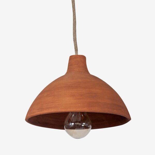 Lámpara colgante barro Mud Ceiling Open