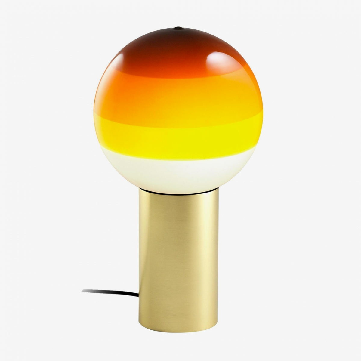 Lámpara de sobremesa LED Dipping Light ambar   Marset