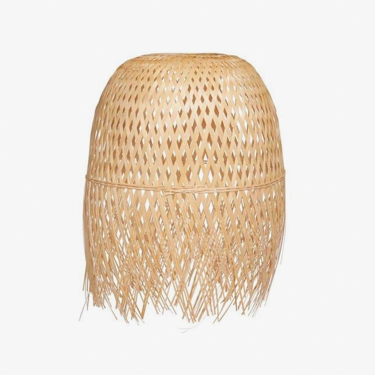 Lámpara colgante bambú Ø35